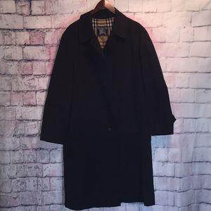 Burberry Men's Coat Size 48 Color Black